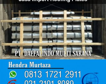 Jasa Import Roofing Plates